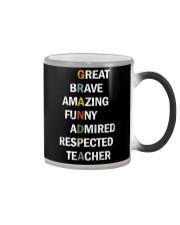 Grandpa Adjectives Color Changing Mug thumbnail