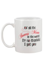 Bonus Mom I'm Thankful I Got You Christmas Mug back