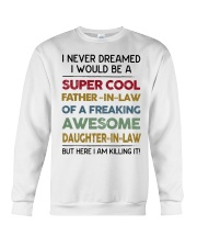 Super Cool Father-in-law Crewneck Sweatshirt thumbnail
