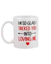 Trick You Love You  Mug back