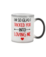 Trick You Love You  Color Changing Mug tile