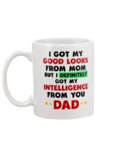 Intelligence From Dad Mug back