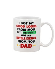 Intelligence From Dad Mug front