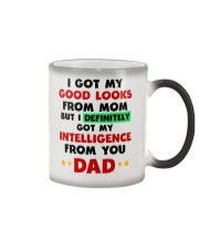 Intelligence From Dad Color Changing Mug thumbnail