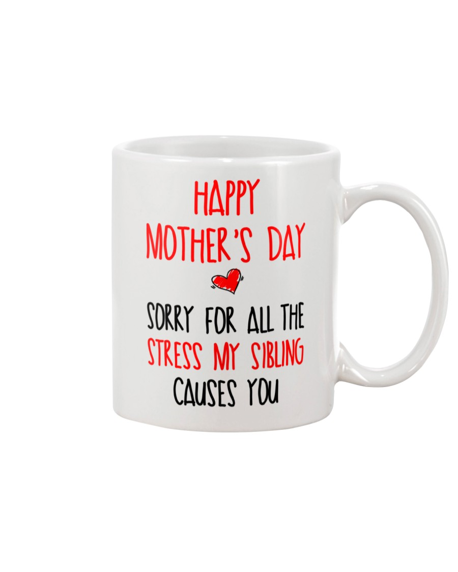 Stress Sibling Causes Mug