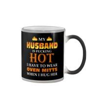 Husband Oven Mitts Color Changing Mug thumbnail