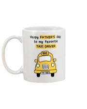 Favorite Taxi Driver Mug back
