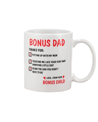 Bonus Dad Thanks For
