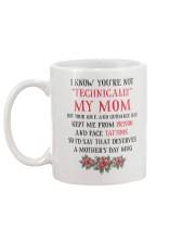 Technically My Mom Mug back