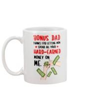 Spend All Your Hard Earned Money Mug back