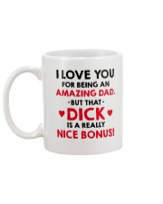 Amazing Dad Nice Bonus Mug back