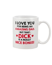 Amazing Dad Nice Bonus Mug tile