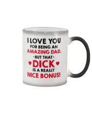 Amazing Dad Nice Bonus Color Changing Mug thumbnail