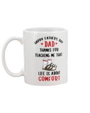 Life Is About Comfort Mug back