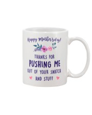 Push Me Out Of Snatch Mug front