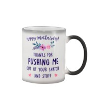 Push Me Out Of Snatch Color Changing Mug thumbnail