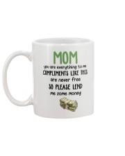 Compliments Like This Mug back