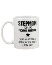 Awesome Stepmom Mug back