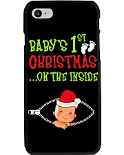 Baby First Christmas Inside Phone Case thumbnail