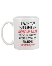 Being An Awesome Mum Mug back