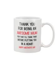Being An Awesome Mum Mug front