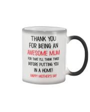 Being An Awesome Mum Color Changing Mug thumbnail