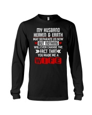 You Made Me A Wife Long Sleeve Tee thumbnail