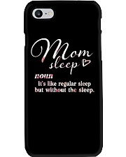 Mom Sleep Definition Phone Case thumbnail