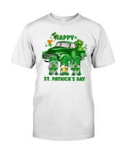Happy St Patrick Day Gnomes Classic T-Shirt front