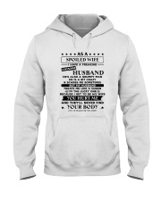 Spoiled Wife Treated Like Queen Hooded Sweatshirt front
