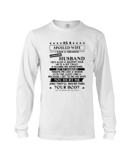 Spoiled Wife Treated Like Queen Long Sleeve Tee thumbnail