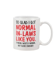 Got Normal In-Laws Like You1 Mug front