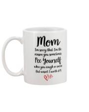 Mom Pee Yourself Mug back