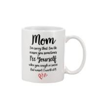 Mom Pee Yourself Mug front