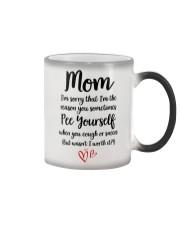 Mom Pee Yourself Color Changing Mug thumbnail