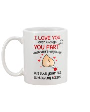 Blowing Kisses From You Ass Mug back