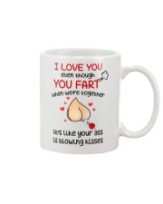 Blowing Kisses From You Ass Mug front