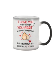 Blowing Kisses From You Ass Color Changing Mug thumbnail