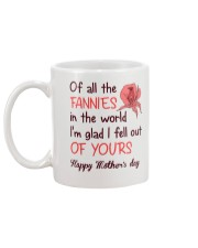 All The Fannies In The World Mug back