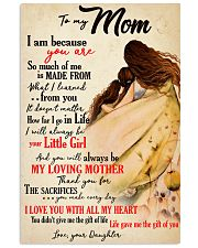 Moms Mother Day Gifts Life Gave Me The Gift Of You 11x17 Poster front