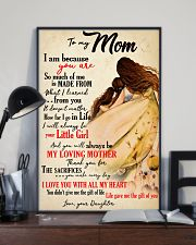 Moms Mother Day Gifts Life Gave Me The Gift Of You 11x17 Poster lifestyle-poster-2