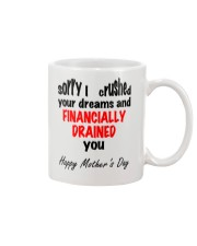 Financially Drained Mug front