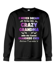 This Crazy Grandma Crewneck Sweatshirt thumbnail