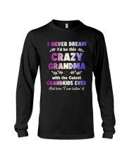 This Crazy Grandma Long Sleeve Tee thumbnail