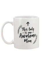 This Lady Is Awesome Mom Mug back