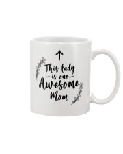 This Lady Is Awesome Mom Mug front