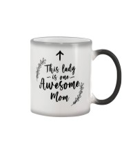 This Lady Is Awesome Mom Color Changing Mug thumbnail