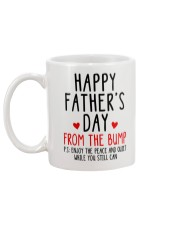 Happy Father's Day From The Bump Mug back