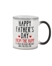Happy Father's Day From The Bump Color Changing Mug thumbnail