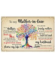 To My Mother-in-law 17x11 Poster front